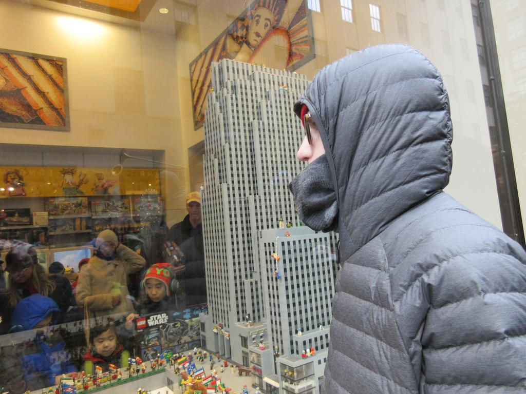 NYC Lego Store